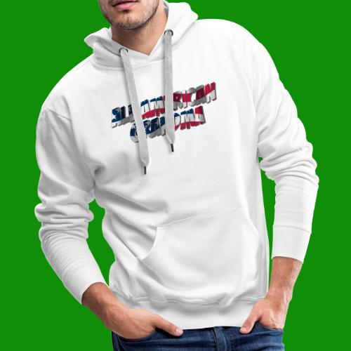 ALL AMERICAN GRANDMA - Men's Premium Hoodie