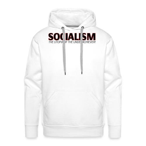 SOCIALISM UTOPIA - Men's Premium Hoodie