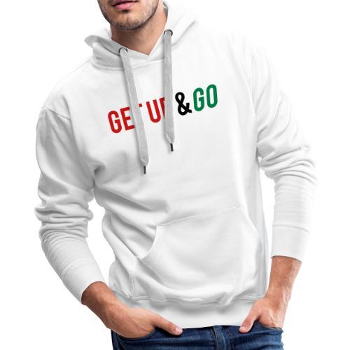 Get Up and Go - Men's Premium Hoodie