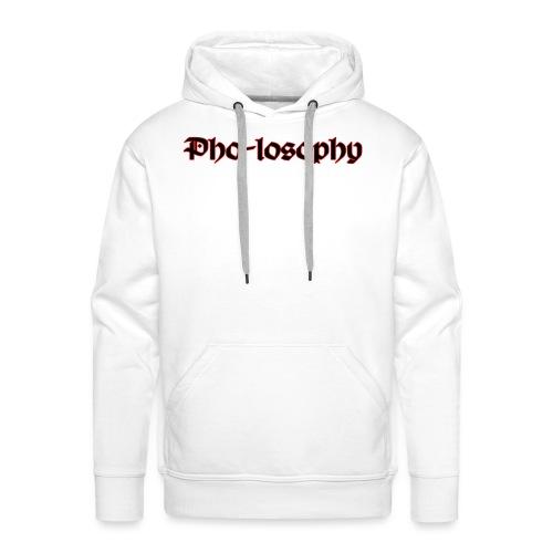 Pholosophy WordMark - Men's Premium Hoodie