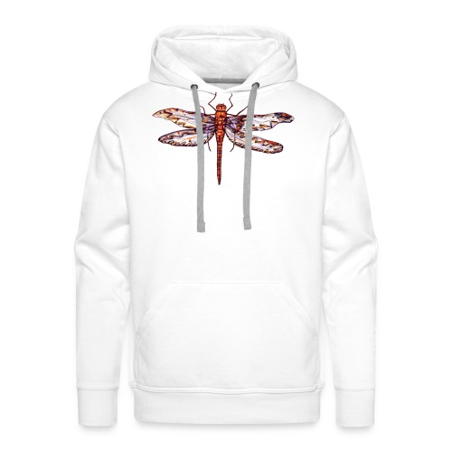 Dragonfly red - Men's Premium Hoodie