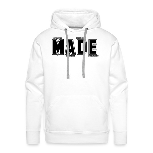 MADE MERCHANDISE LOGO - Men's Premium Hoodie