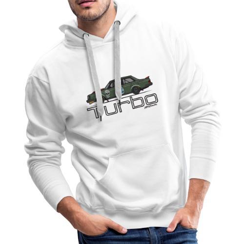 240 Turbo Track Car - Men's Premium Hoodie