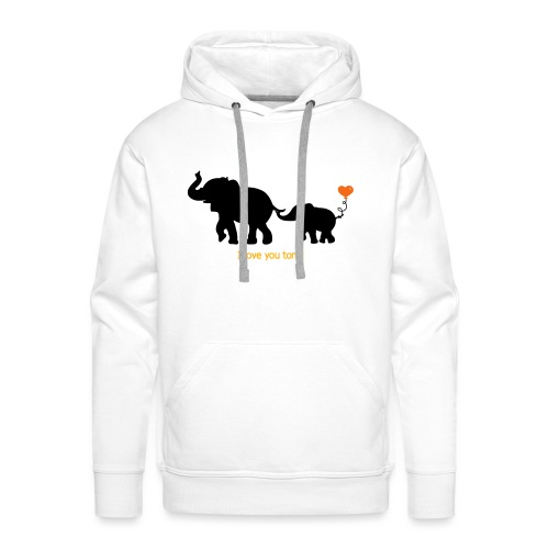 I Love You Tons! - Men's Premium Hoodie