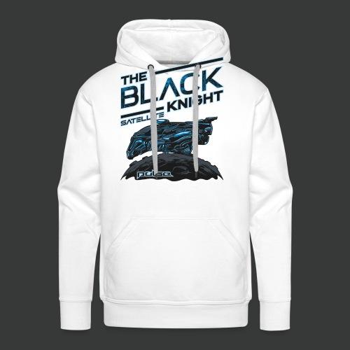 The Black Knight Satellite (Pulse) (For White) - Men's Premium Hoodie