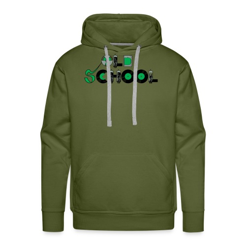 Old School Music - Men's Premium Hoodie