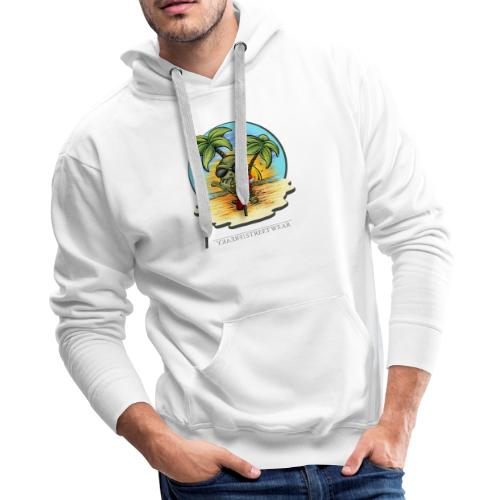 let's have a safe surf home - Men's Premium Hoodie
