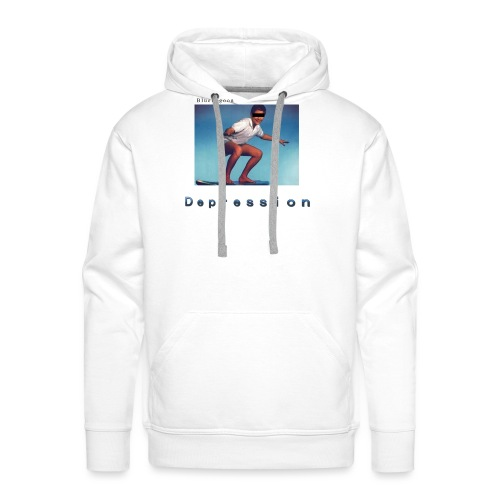 Depression album merchandise - Men's Premium Hoodie