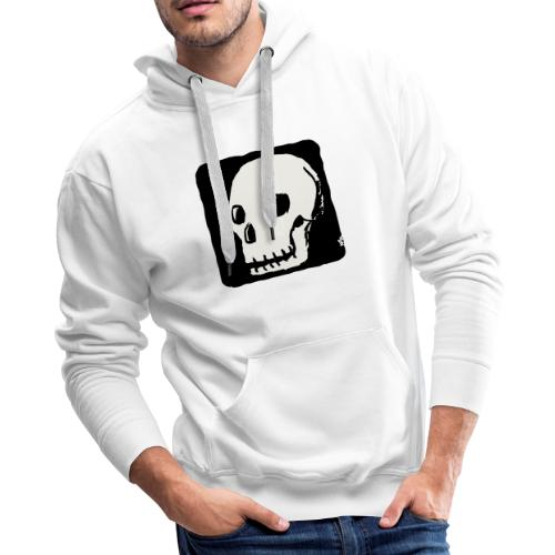 Smiling skull - Men's Premium Hoodie