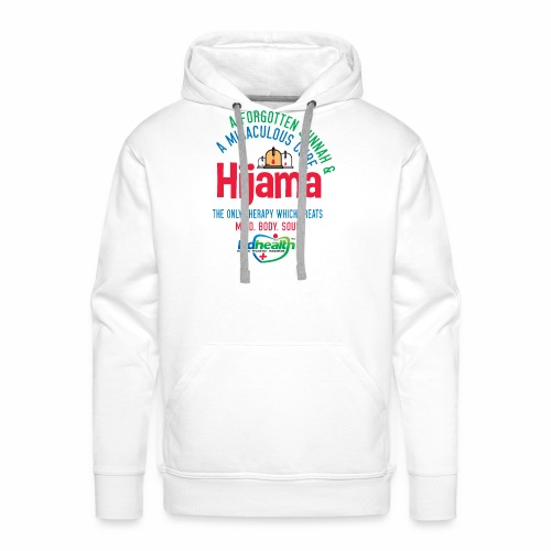 Hijama/Cupping/ Cupping therapy/ BD Health - Men's Premium Hoodie
