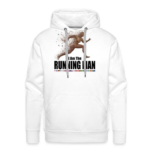I am the Running Man - Cool Sportswear - Men's Premium Hoodie