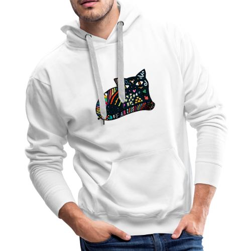 Dreamlike Cat - Men's Premium Hoodie