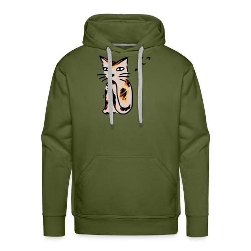 Sneaky Cat - Men's Premium Hoodie