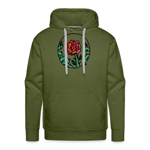 Rose Cameo - Men's Premium Hoodie