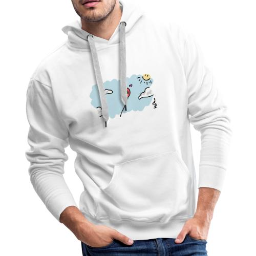 Balloon in Love - Men's Premium Hoodie