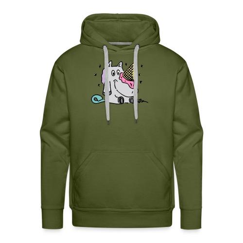 Ice Cream Unicorn - Men's Premium Hoodie