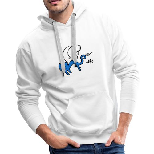 Flying Kitty - Men's Premium Hoodie