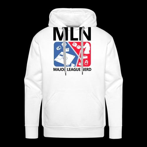 Major League Nerd - Men's Premium Hoodie
