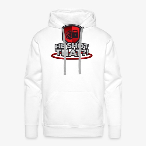 He Shot That?! - Men's Premium Hoodie