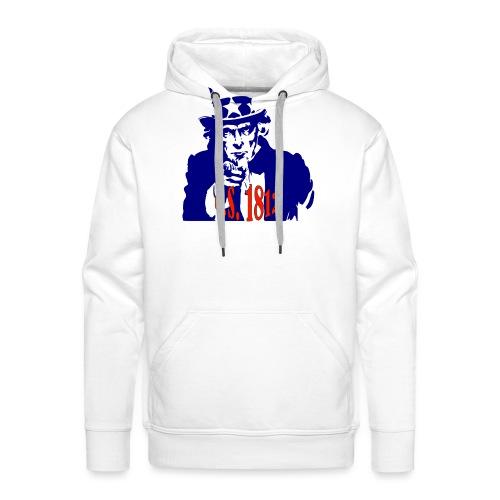 uncle-sam-1812 - Men's Premium Hoodie
