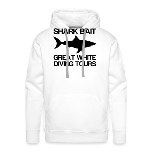 Great White Shark T-Shirt - Men's Premium Hoodie