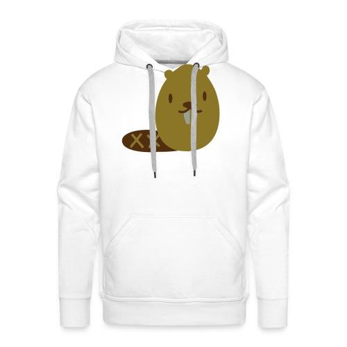 Cute Beaver - Men's Premium Hoodie