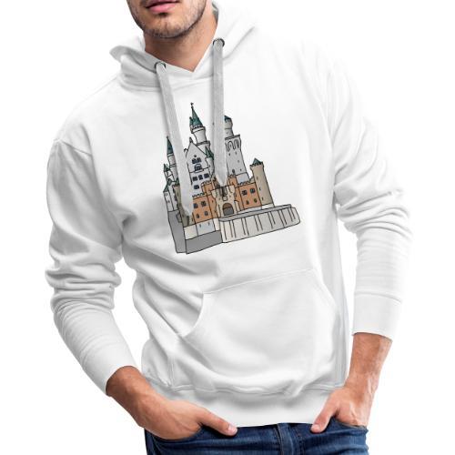 Neuschwanstein Castle, Bavaria - Men's Premium Hoodie
