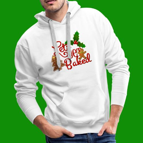 Let's Get Baked - Family Holiday Baking - Men's Premium Hoodie