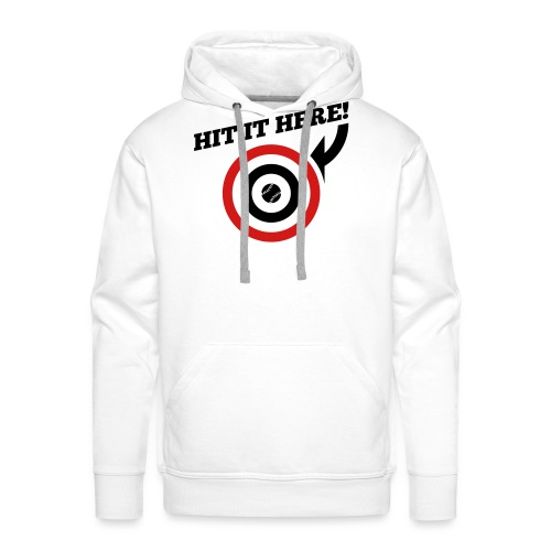 Hit it Here! (Los Angeles, St. Louis, Washington) - Men's Premium Hoodie