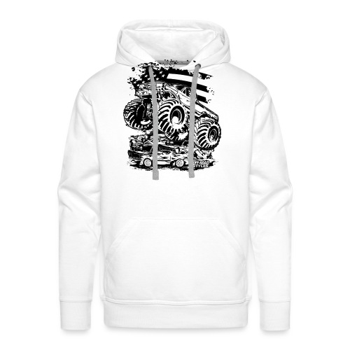 Monster Truck USA - Men's Premium Hoodie