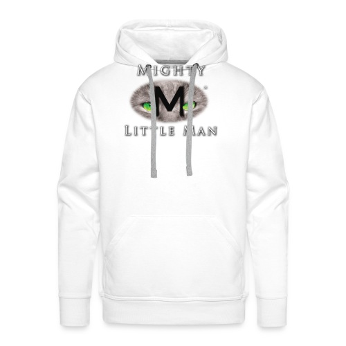 MIGHTY LITTLE MAN Logo - Men's Premium Hoodie