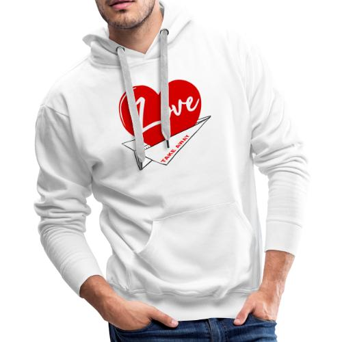 Love take away - Men's Premium Hoodie
