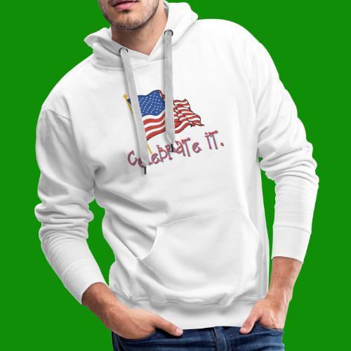USA Celebrate It - Men's Premium Hoodie