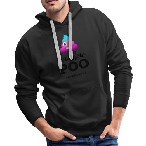 Rainbow Poo - Men's Premium Hoodie