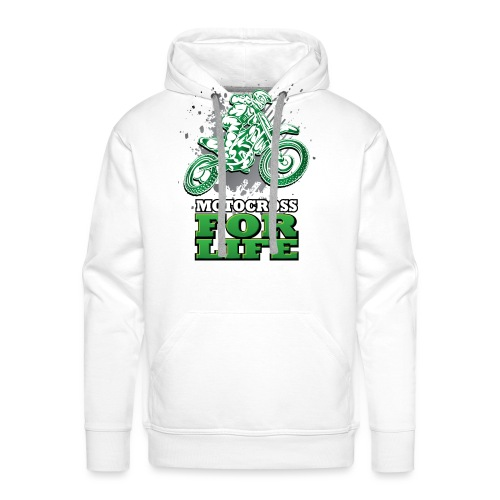 Motocross For Life - Men's Premium Hoodie