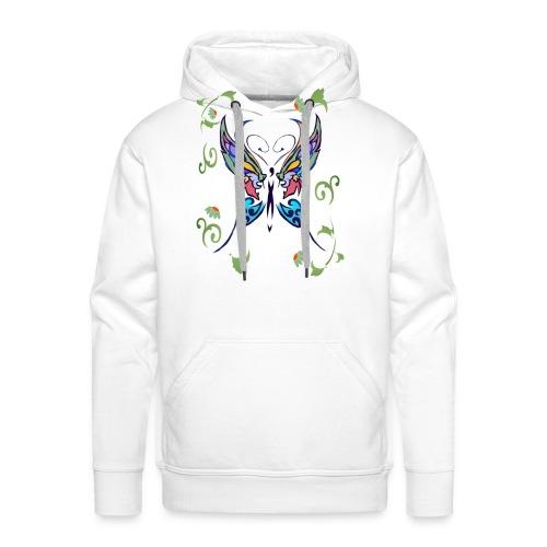 Bright Butterfly - Men's Premium Hoodie