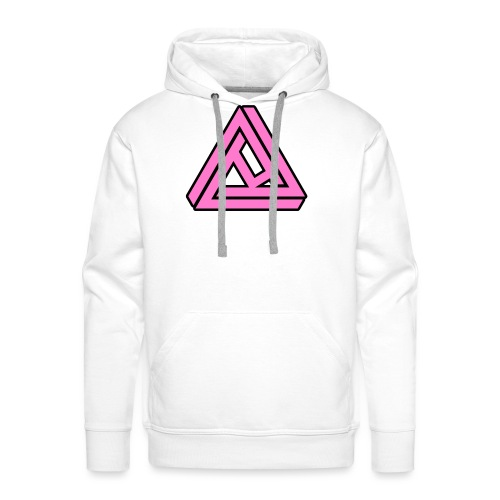 Breast Cancer Awareness Logo - Men's Premium Hoodie