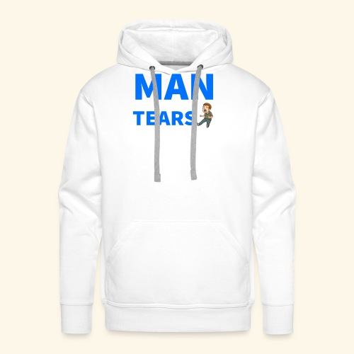 Man Tears Mug - Men's Premium Hoodie