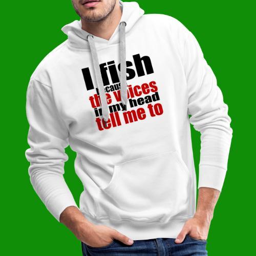 Fishing Voices - Men's Premium Hoodie