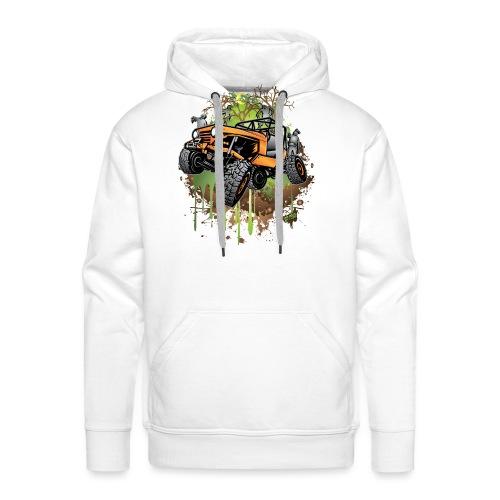Wrangler Halloween Zombie - Men's Premium Hoodie