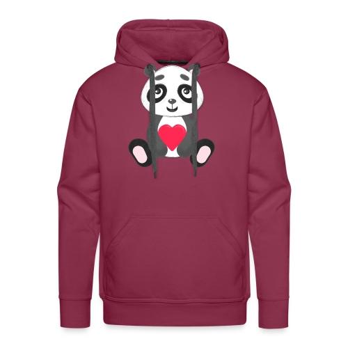 Sweetheart Panda - Men's Premium Hoodie