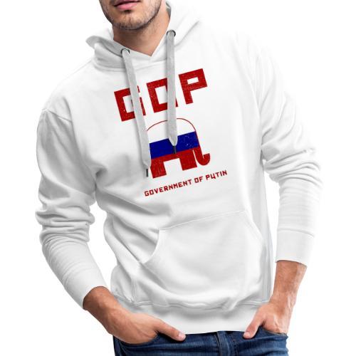 GOP Government of Putin - Men's Premium Hoodie