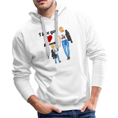 Mother's day gift from daughter, Mother's Day Gift - Men's Premium Hoodie