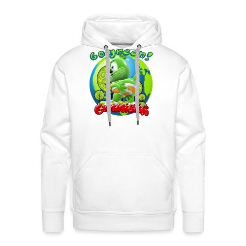 Gummibär Go Green Earth Day Earth - Men's Premium Hoodie