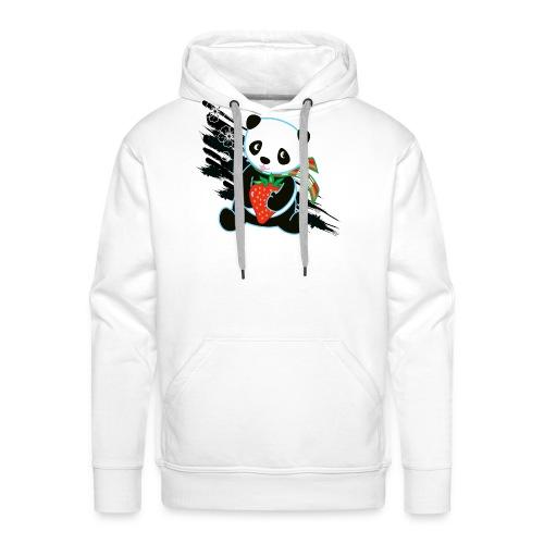 Cute Kawaii Panda T-shirt by Banzai Chicks - Men's Premium Hoodie
