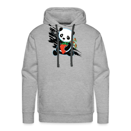 Cute Kawaii Panda T-shirt by Banzai Chicks - Men's Premium Hoodie