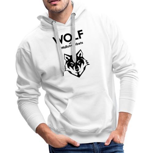 Wolf of Wallstreetbets - Men's Premium Hoodie