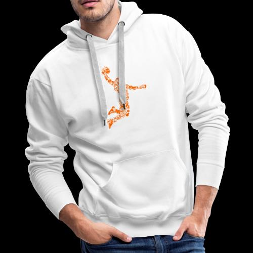 Basketball Slam Dunk - Men's Premium Hoodie