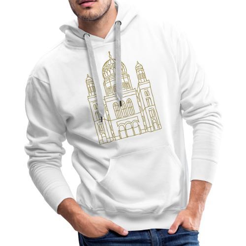 New Synagogue Berlin - Men's Premium Hoodie