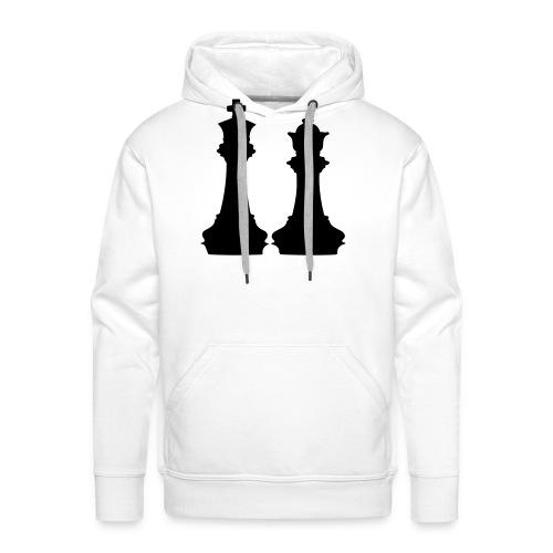 king and queen - Men's Premium Hoodie